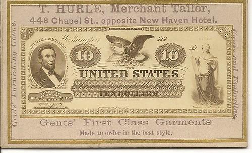 T. Hurle Naramore card $10