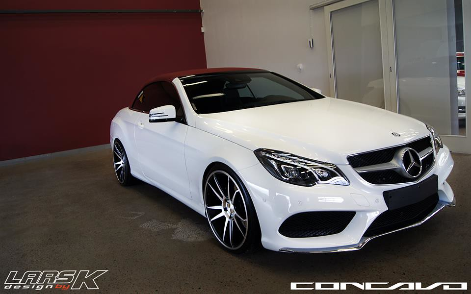 New 2014 Mercedes Benz E Class Coupe Sitting On Cw S5