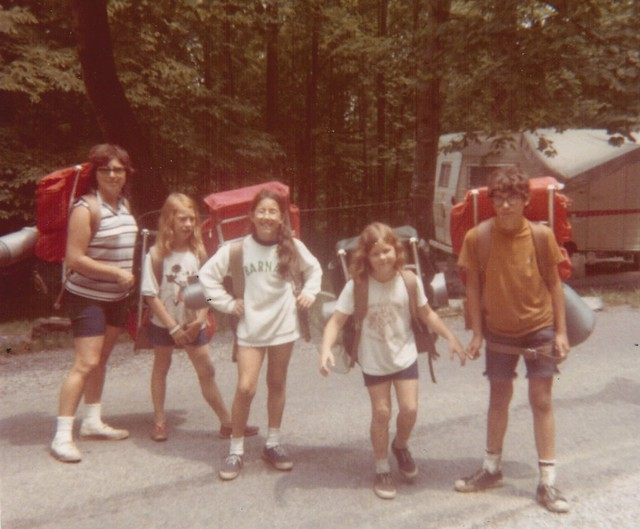 BackpackSmokies August, 1972