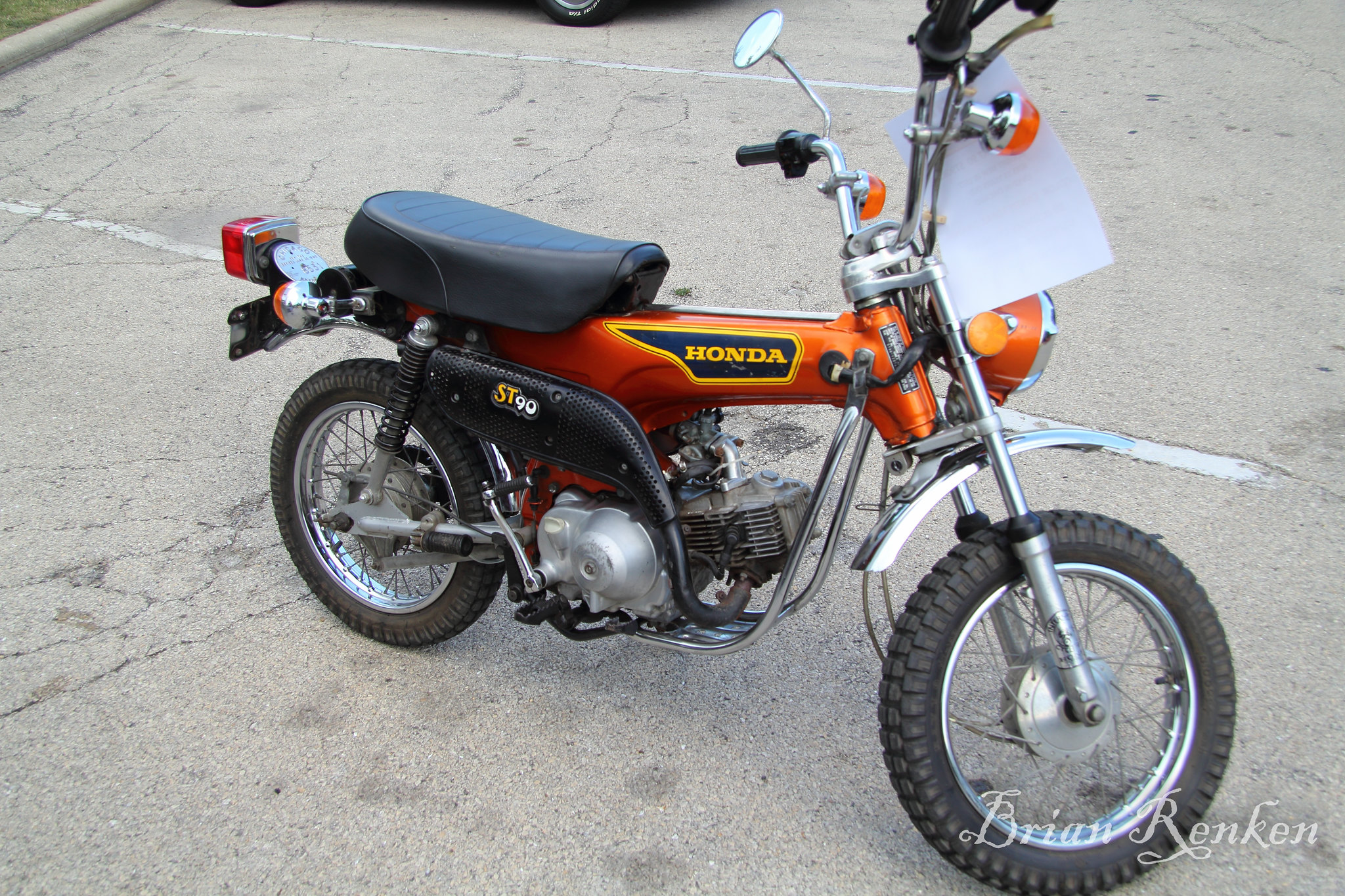 Honda St90 Motorcycle For Sale