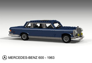 Mercedes-Benz 600 Limousine - 1963-81