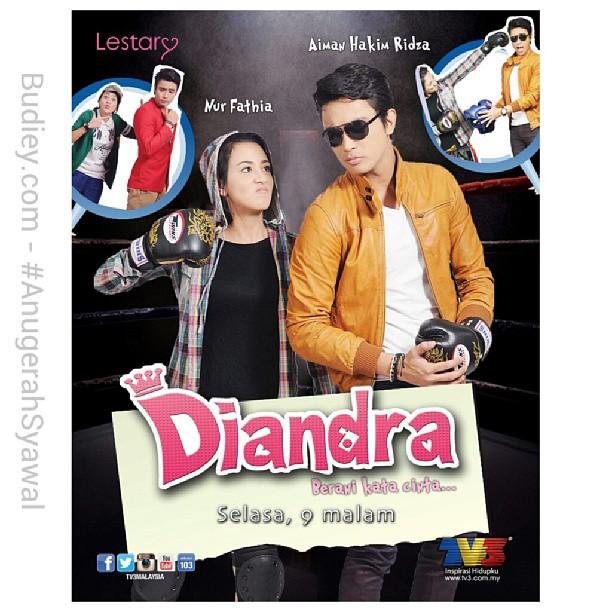Benarkah wujud cinta antara Nur Fathia & Aiman Hakim Ridza? Drama Diandra mulai Selasa dpn jam 9 mlm di @tv3malaysia