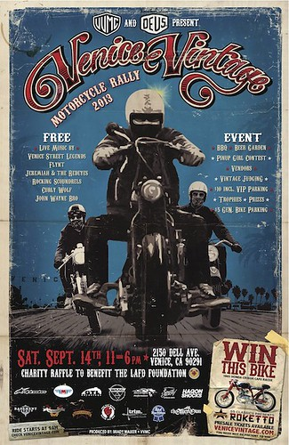 Venice Vintage Motorcycle Rally 2013