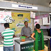 Vinodbhai serving ice creams to customers
