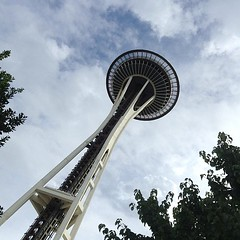 Obligatory Space Needle shot. #seattle #landmarked