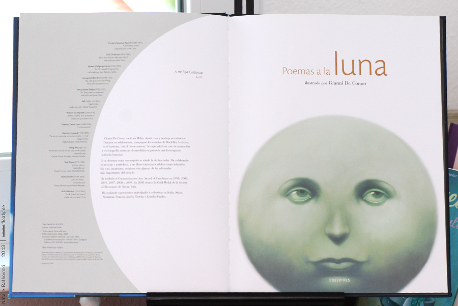 Gianni de Conno: Poemas a la luna