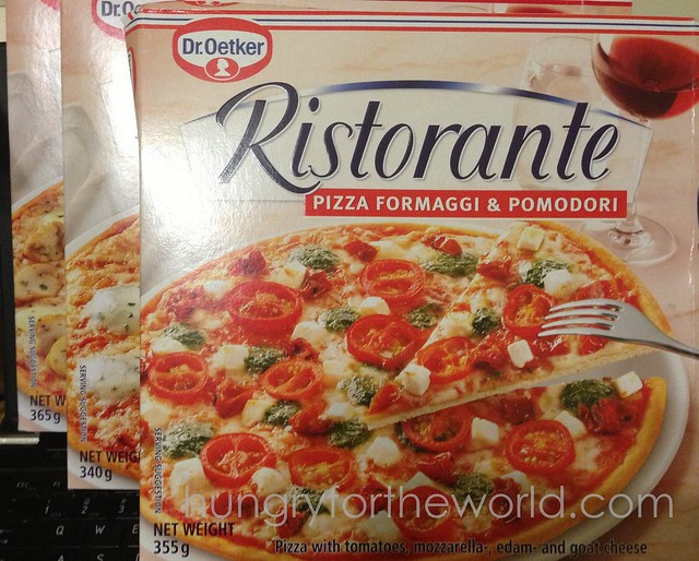 dr oetker ristorante pizza box