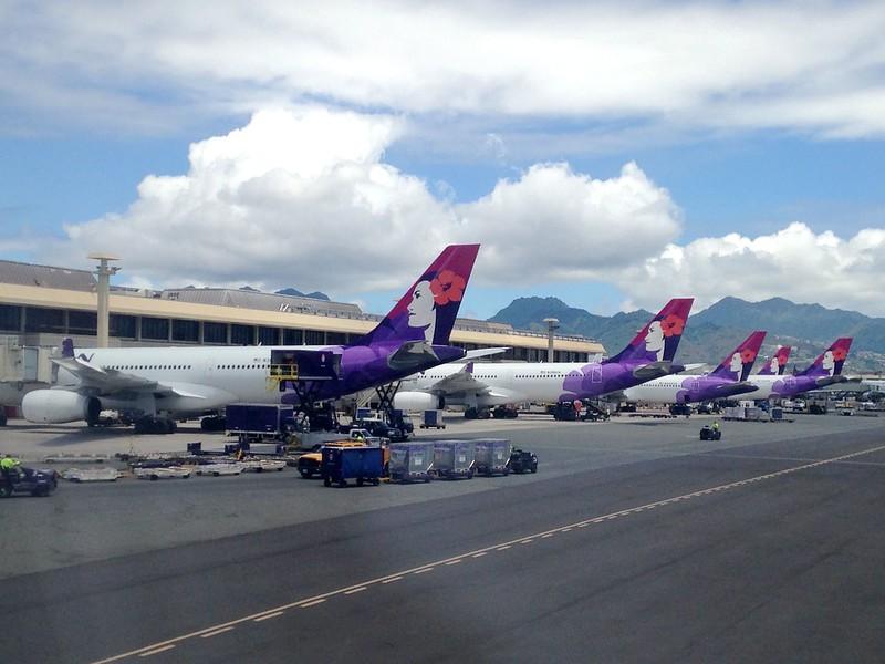 夏威夷航空飛行紀錄