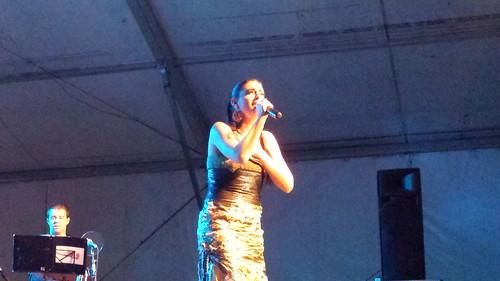 Carolina Caparrós en Concierto