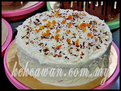 Moist Cheezy Carrot Cake