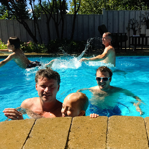 Post playoff pool party - #252/365 by PJMixer