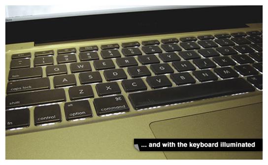 Moshi Clearguard - on Unibody MacBook