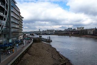 Vue depuis le Southwark Bridge