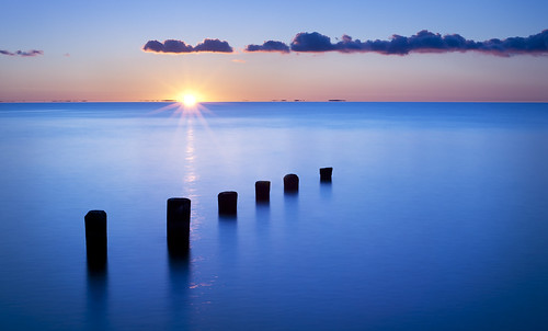water sunrise caviardreams