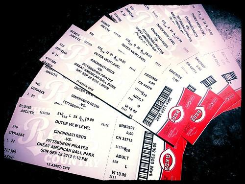 Reds tickets