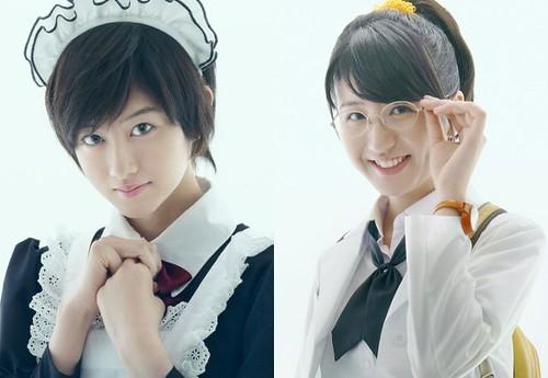 130926(3) – 2014年新春真人電影版《僕は友達が少ない》(我的朋友很少)發表「楠幸村、志熊理科」兩位女演員定裝照!