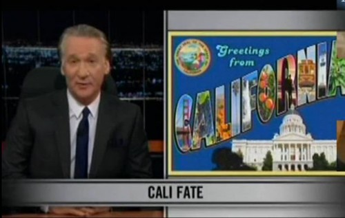 Bill Maher: California Does Better When Governed By A Democrat (VIDEO)