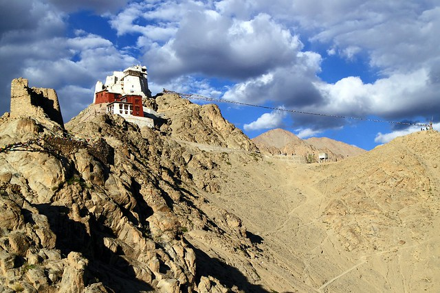 Tsemo (Victory) Fort (above) and Gompa (below) - Leh