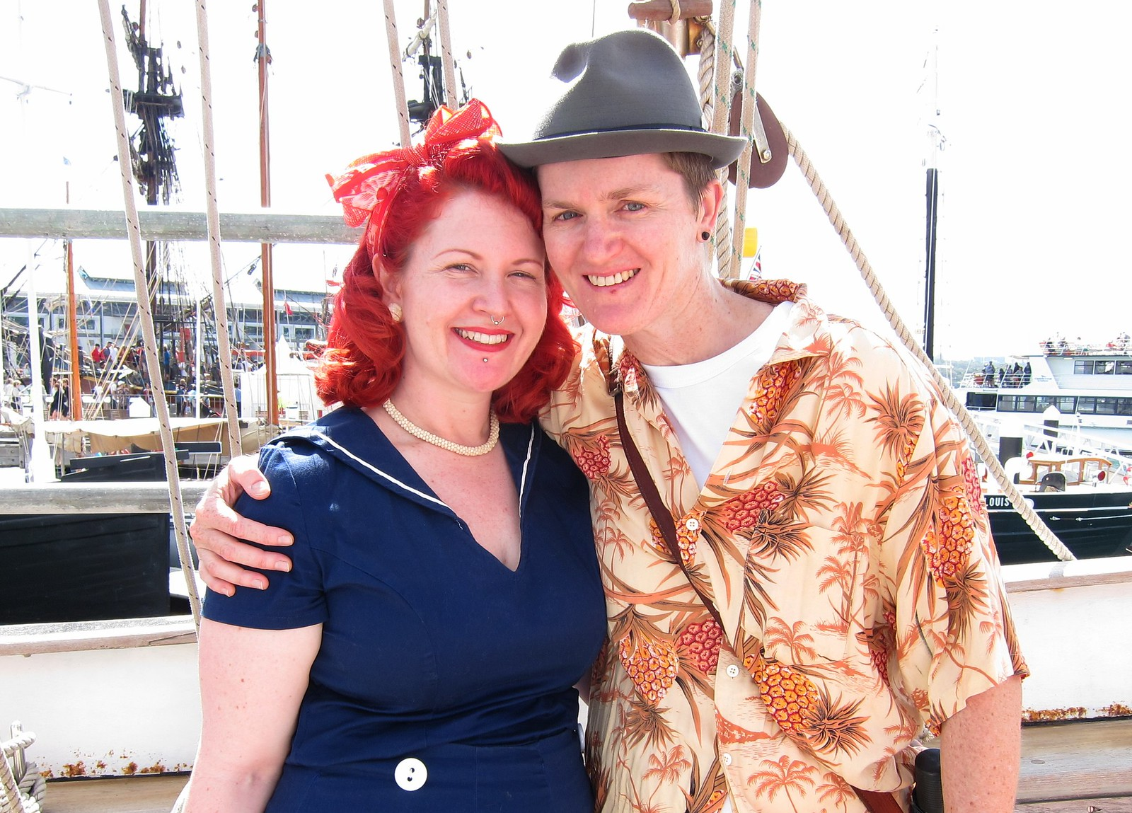 vintage sailor lesbian dyke 1950s 1940s