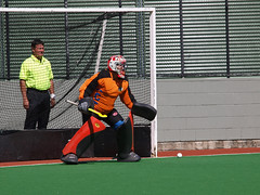 Men's Hockey Australian Masters Championships 2013 - Caps off to Goalies!
