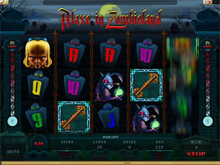 Alaxe in Zombieland Slot Machine