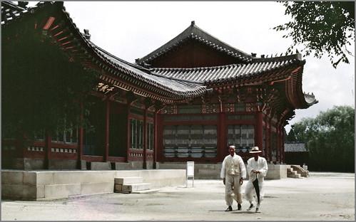 Seoul 서울 1968-07-17 Gyeongboggung 경복궁 景福宮 N°68D07-0215