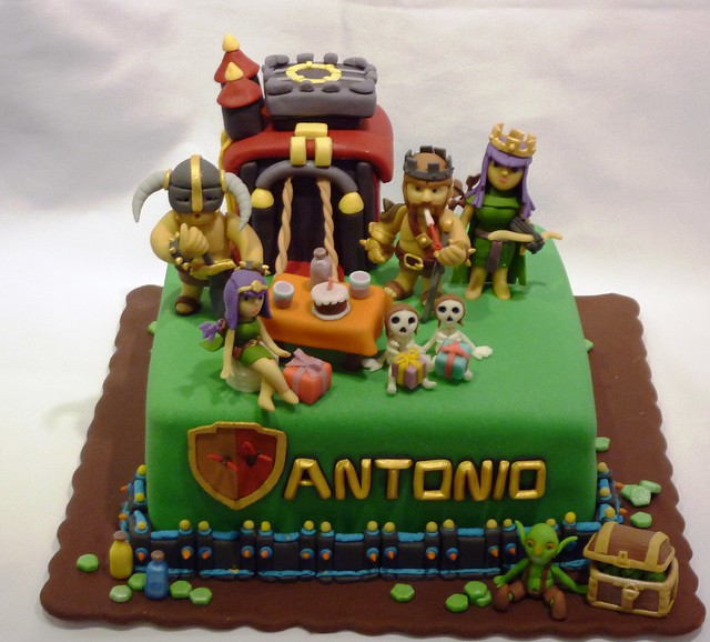 Cake Design Coc : clash of clans cake Flickr - Photo Sharing!
