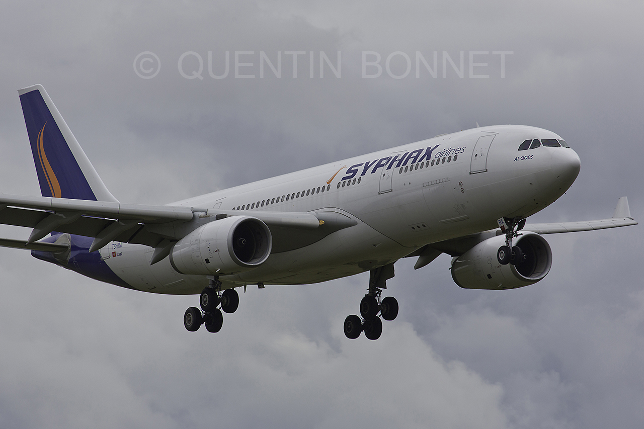 Syphax Airlines Airbus A330-243 TS-IRA