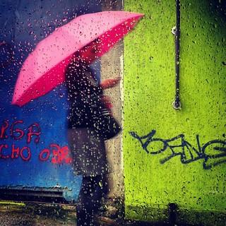 A chuva numa tarde paulistana...