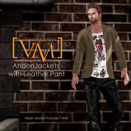 [VM] VERO MODERO  Andon Jackets