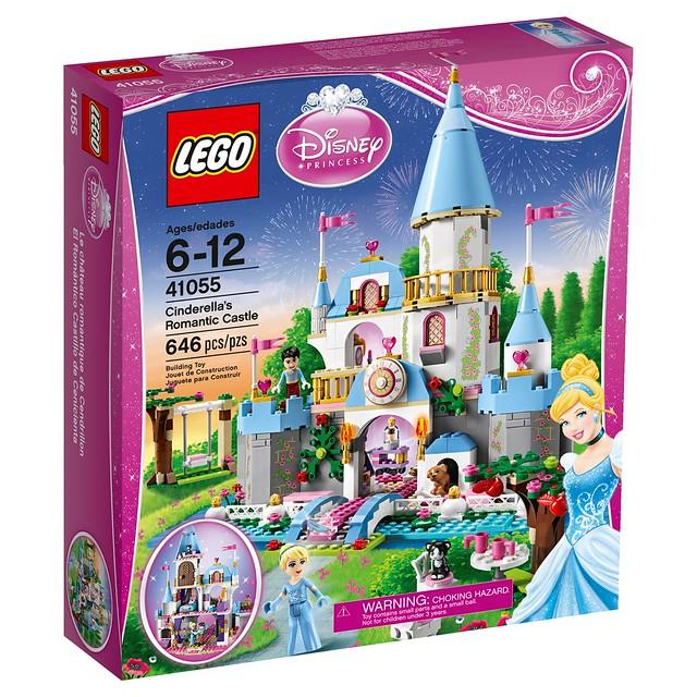 LEGO Disney Princess 41055 - Cinderella's Romantic Castle