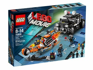 The LEGO Movie 70808 - Super Cycle Chase