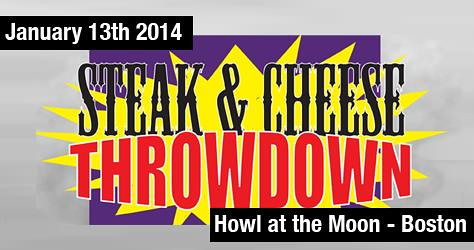 steak and cheese throwdown