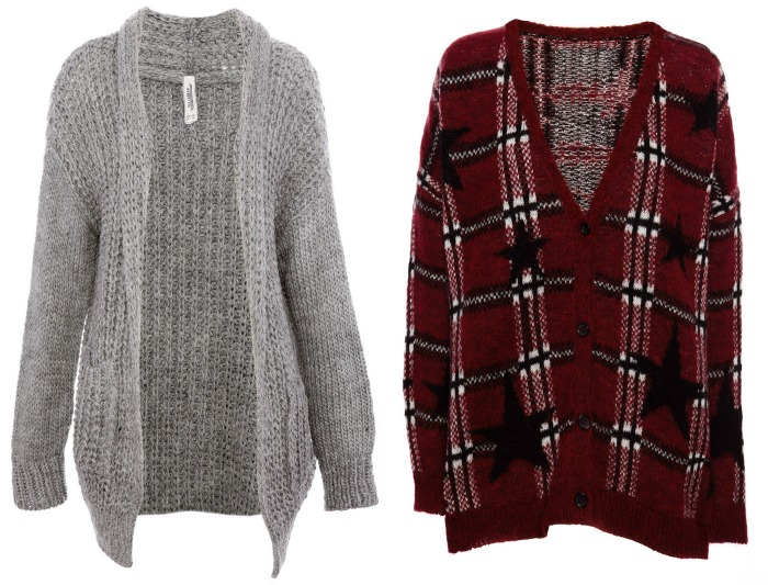 chaquetas de lana pull and bear