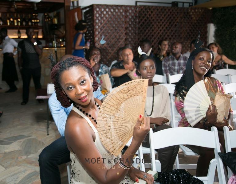 Makeba Boateng, Yvonne Ntiamoah and Jennifer Williams-Baffoe