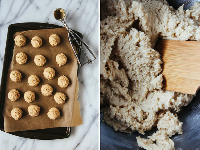 Masala chai spiced cookie dough