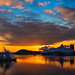 Sunset on the Oslofjord by RobertCross1