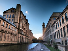 Canal at Saltaire