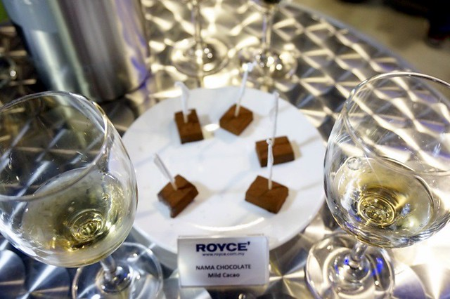royce chocolate malaysia - wine pairing and chocolate