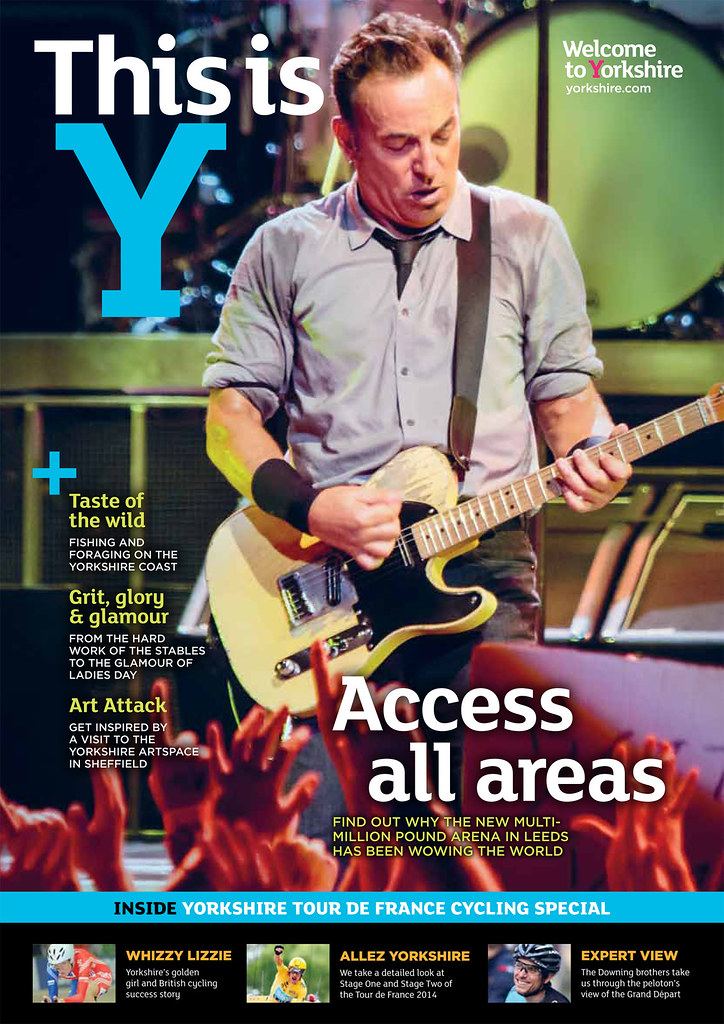 Bruce Springsteen - This is Y Magazine