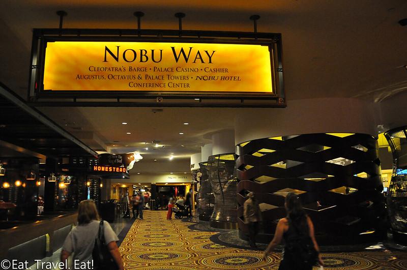 Nobu (Caesars Palace, Nobu Hotel)- Las Vegas, NV: Nobu Way