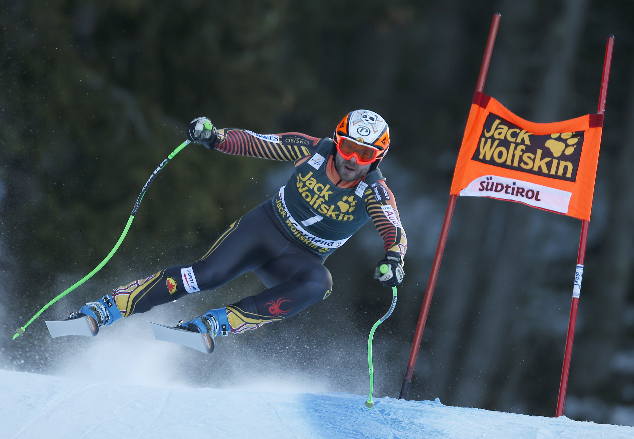 Hudec races his way to a 9th place finish in ValGardena, ITA