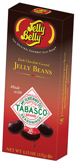 Jelly Belly Tabasco Dark Chocolate Jelly Beans-Box image