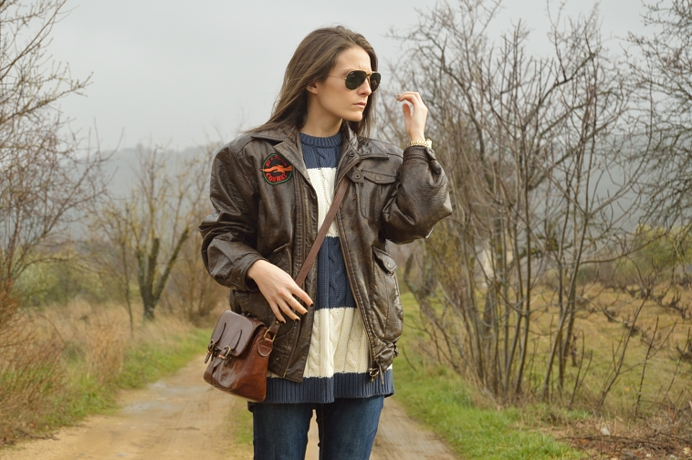 lara-vazquez-madlula-blog-fashion-vintage-mood-outfit-blue-brown