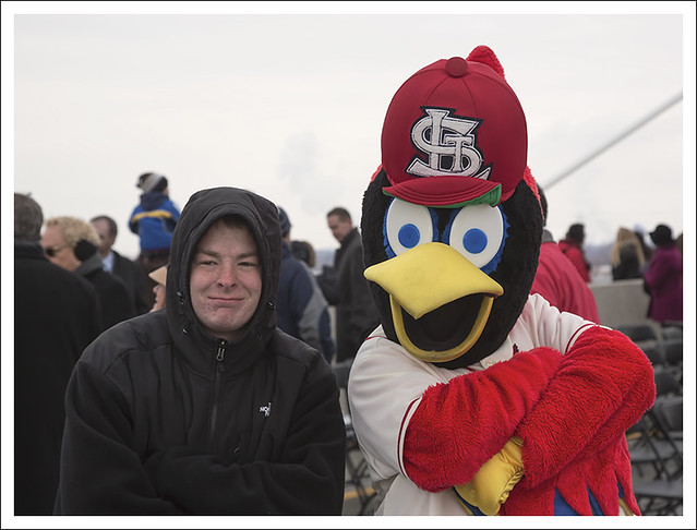 Fredbird On The Bridge 1