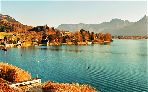 Autumn on Wolfgangsee