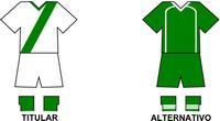 Uniforme Selección Agrícola de Fútbol