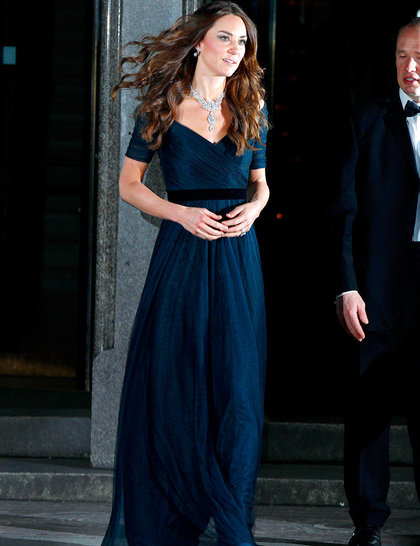 kate-middleton-the-portrait-gala-2014-collecting-to-inspire-at-the-national-portrait-gallery-february-2014-rex_Jenny Packham and Cartier's Nizam of Hyderabad