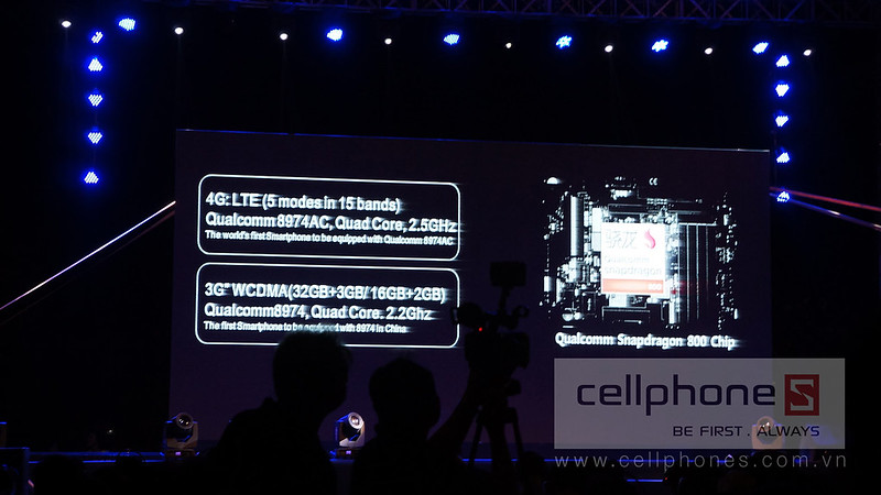 Sforum - Trang thông tin công nghệ mới nhất 12689400643_d71c635aa9_c Hình ảnh sự kiện Gionee ra mắt Elife E7 tại Việt Nam