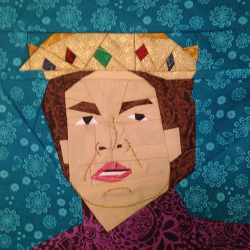 Prince Humperdink. I would not say such things if I were you #asyouwish #princessbride #fandominstitches #humperdink #paperpiecing #quilting